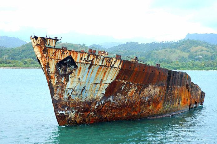 corrosione nave