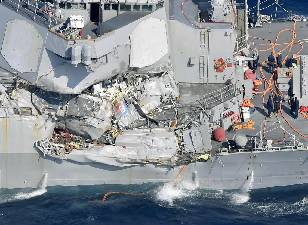 incidente USS Fitzgerald